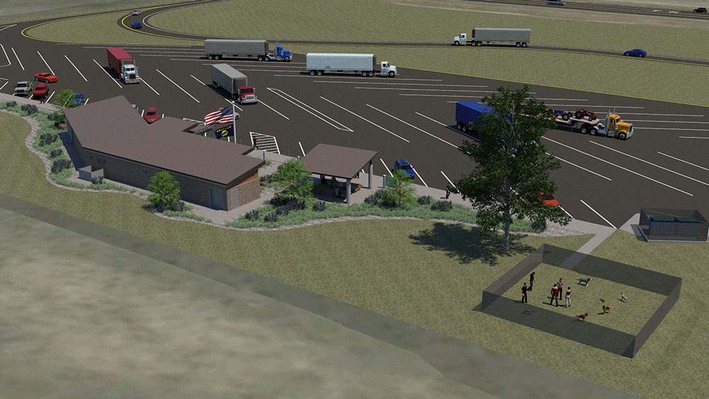 Proposed Rest Area Causes Unrest