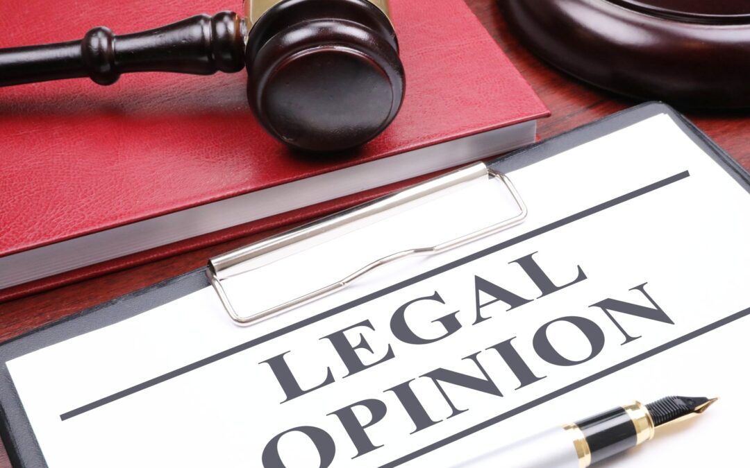 Legal Opinion Regarding Your Rights