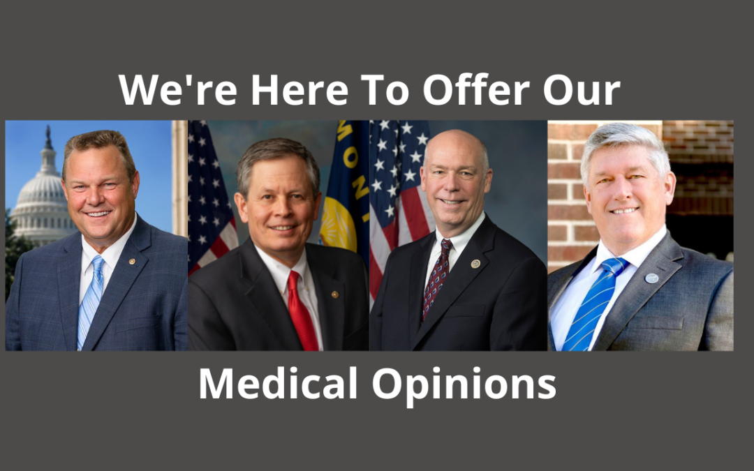 Politicians Dish Out Medical Advice